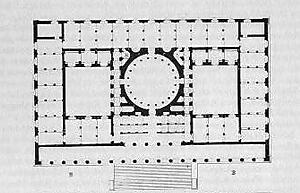 Altes museum berlin grundriss